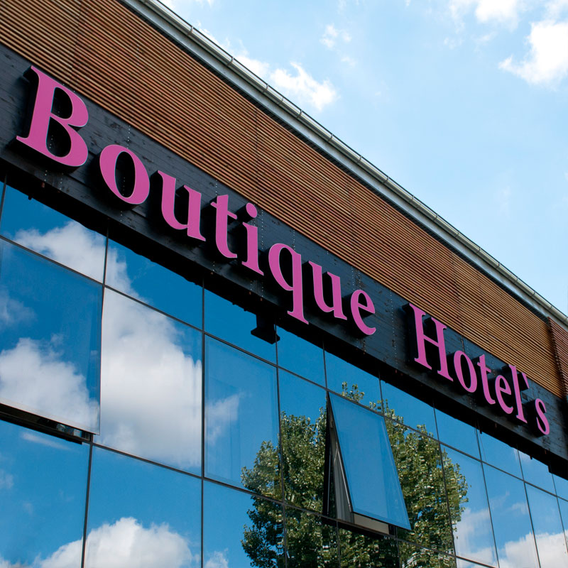 Fotografia Boutique Hotels